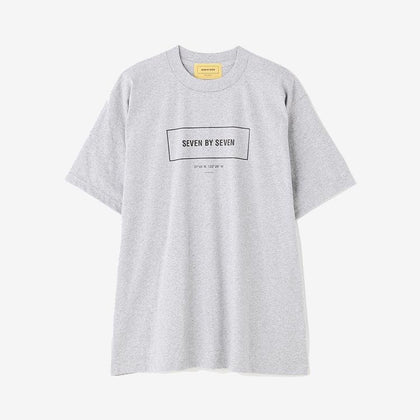 SBS LOGO Tee/ GREY - #hapi Fish-T-SHIRT