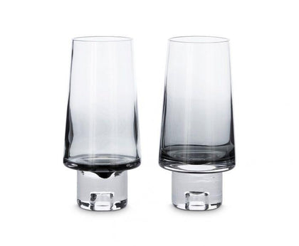 Tank High Ball Glasses x2 Black - #hapi Fish-CUP