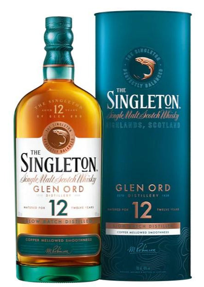 The Singleton of Glen Ord 12 YO Single Malt Scotch Whisky 70CL - #hapi Fish-WHISKY