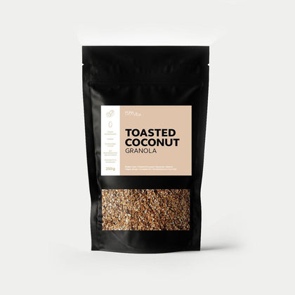 TOASTED COCONUT GRANOLA - #hapi Fish-BREAKFAST