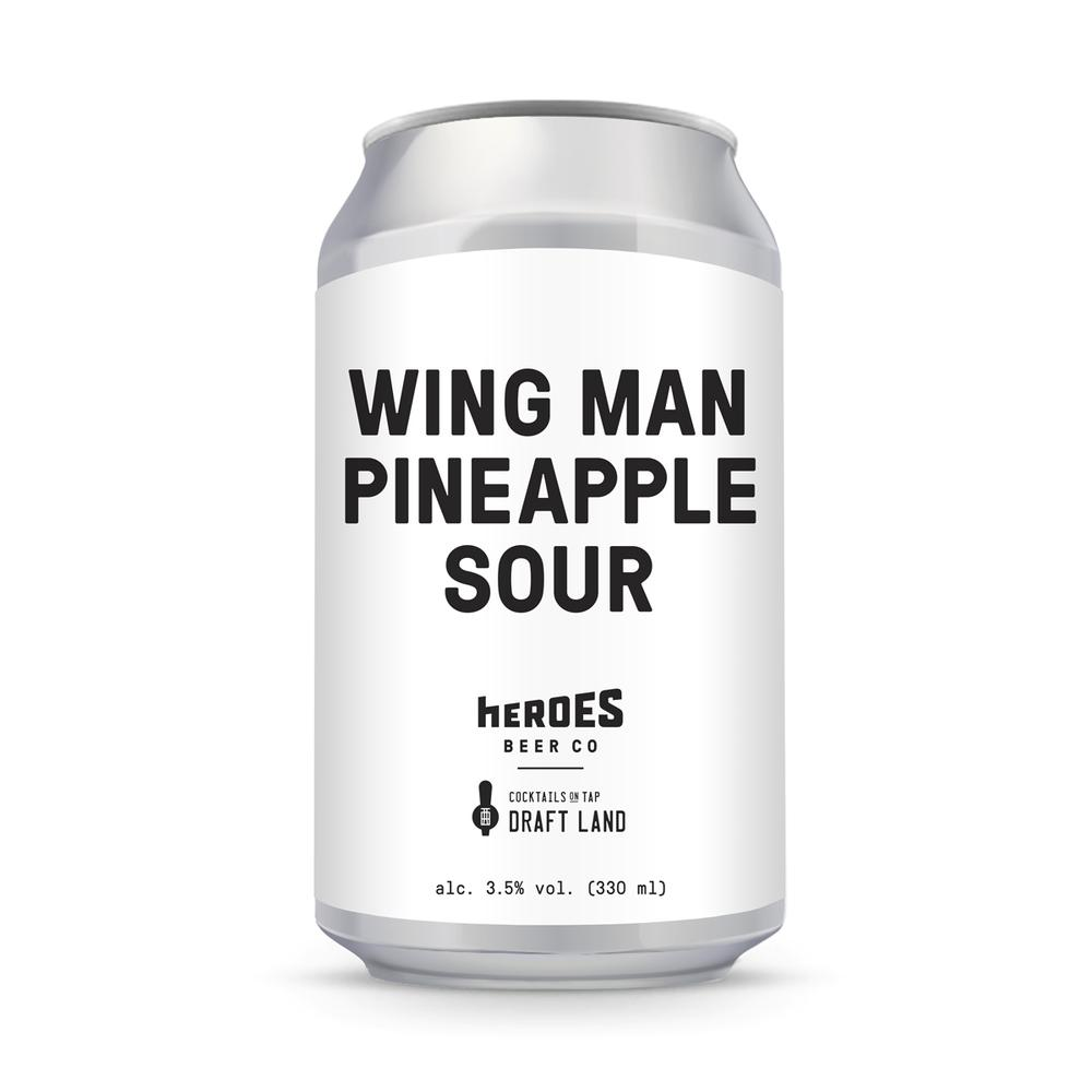WING MAN Pineapple Sour 330ml
