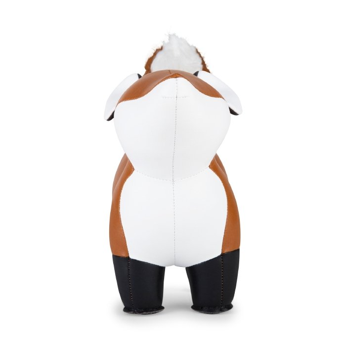 Zuny Bookend Fox Furi Tan+White
