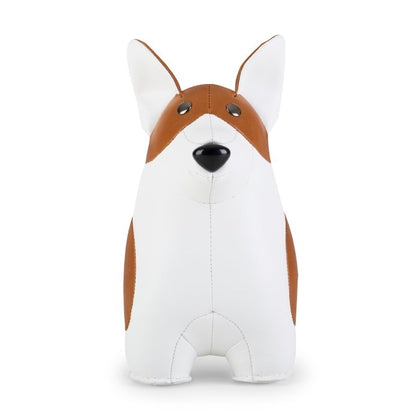 ZUNY CLASSIC CORGI TAN+WHITE BOOKEND - #hapi Fish-HOME DECO
