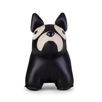 ZUNY CLASSIC FRENCH BULLDOG BLACK+WHEAT BOOKEND - #hapi Fish-HOME DECO
