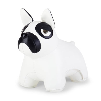 ZUNY CLASSIC FRENCH BULLDOG WHITE + BLACK BOOKEND - #hapi Fish-HOME DECO