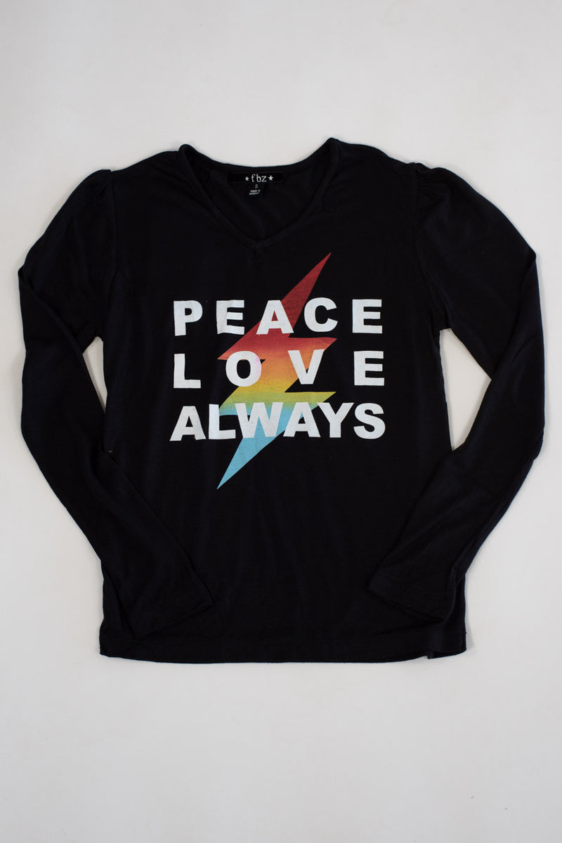 *Peace Love Always Long Sleeve *