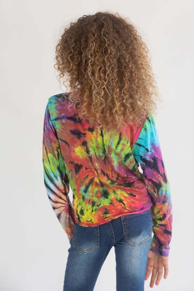 *Bright Spider Tiedye Long Sleeve*