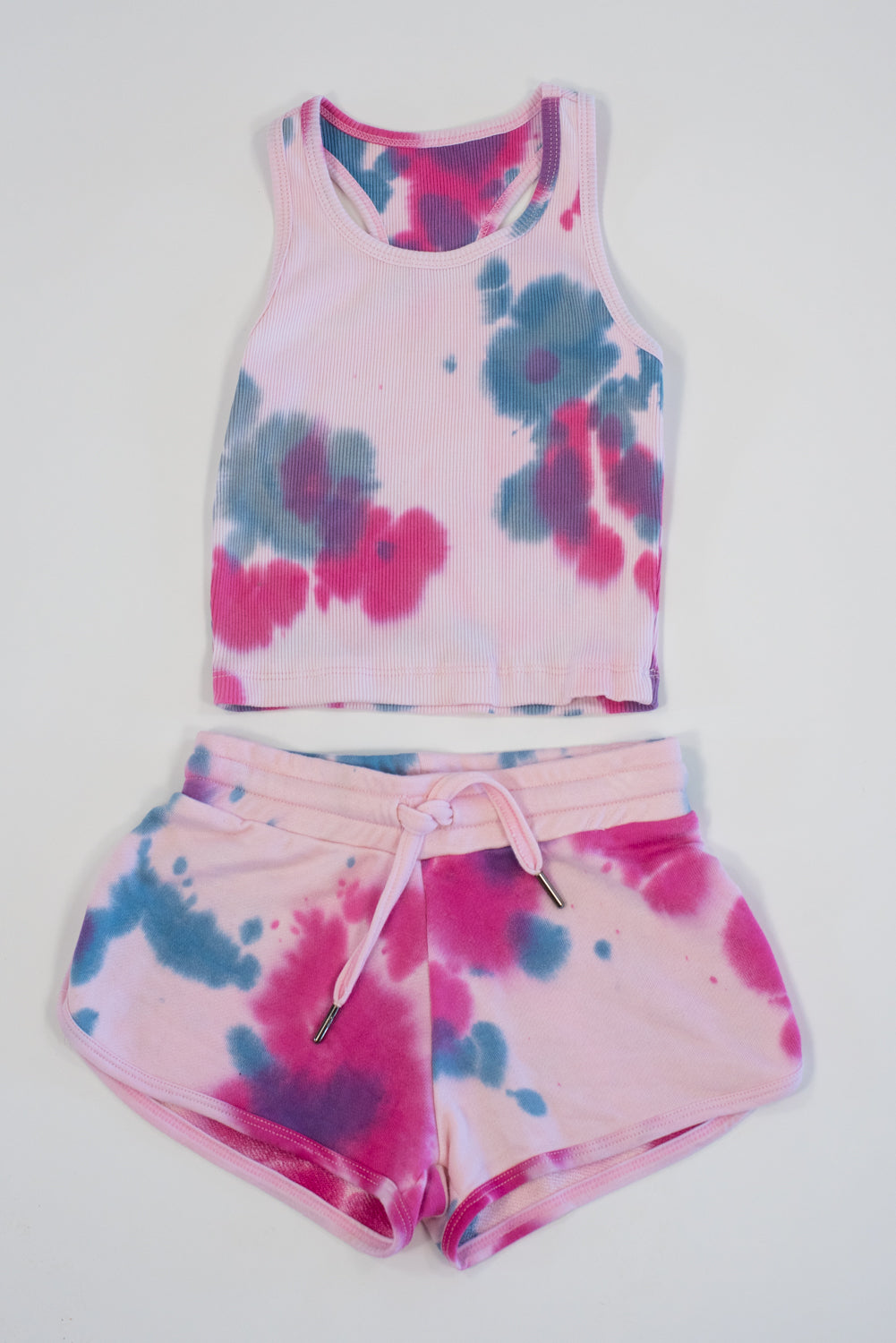 *Blush Tiedye Shorts*
