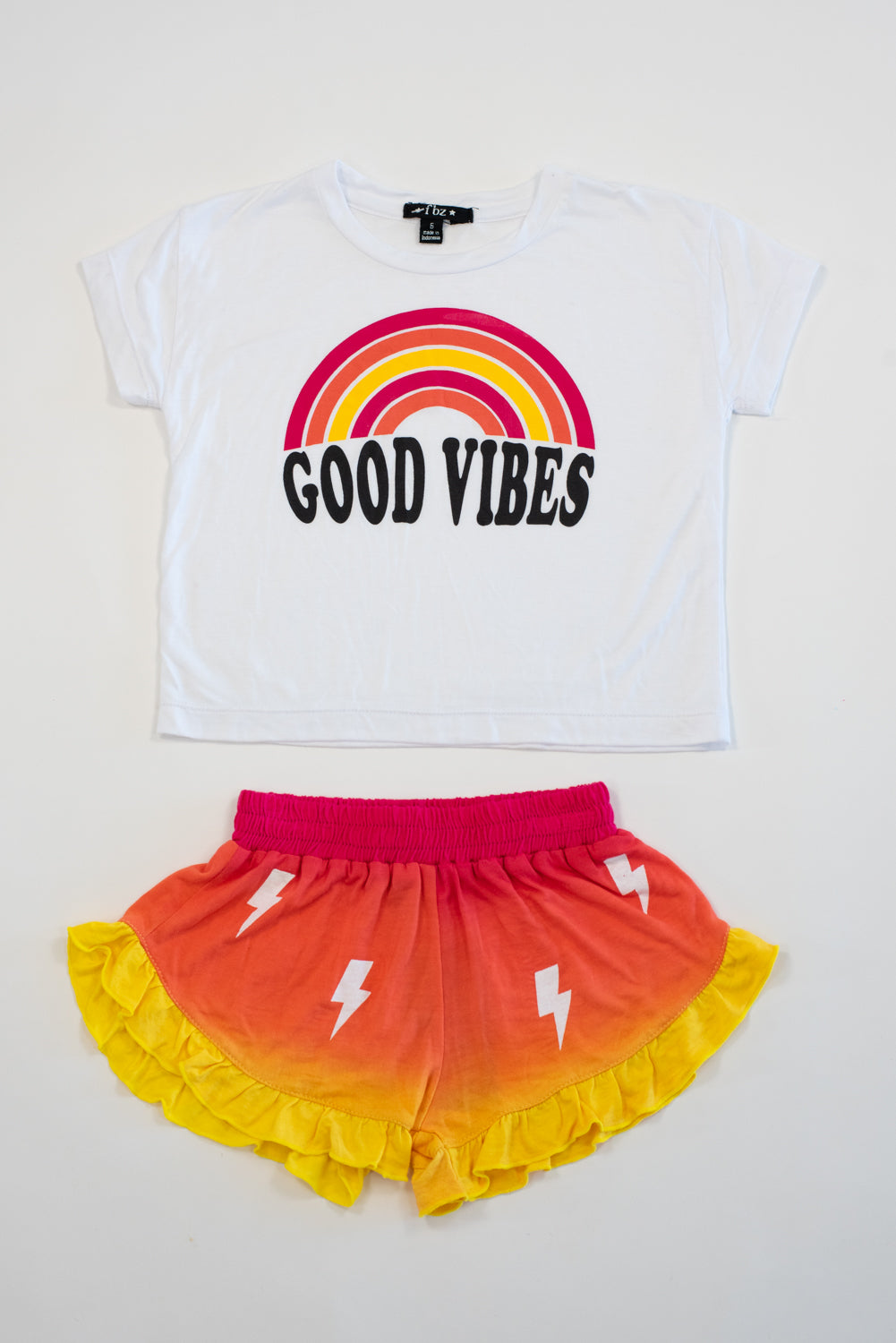 *Good Vibes Cropped Tee*