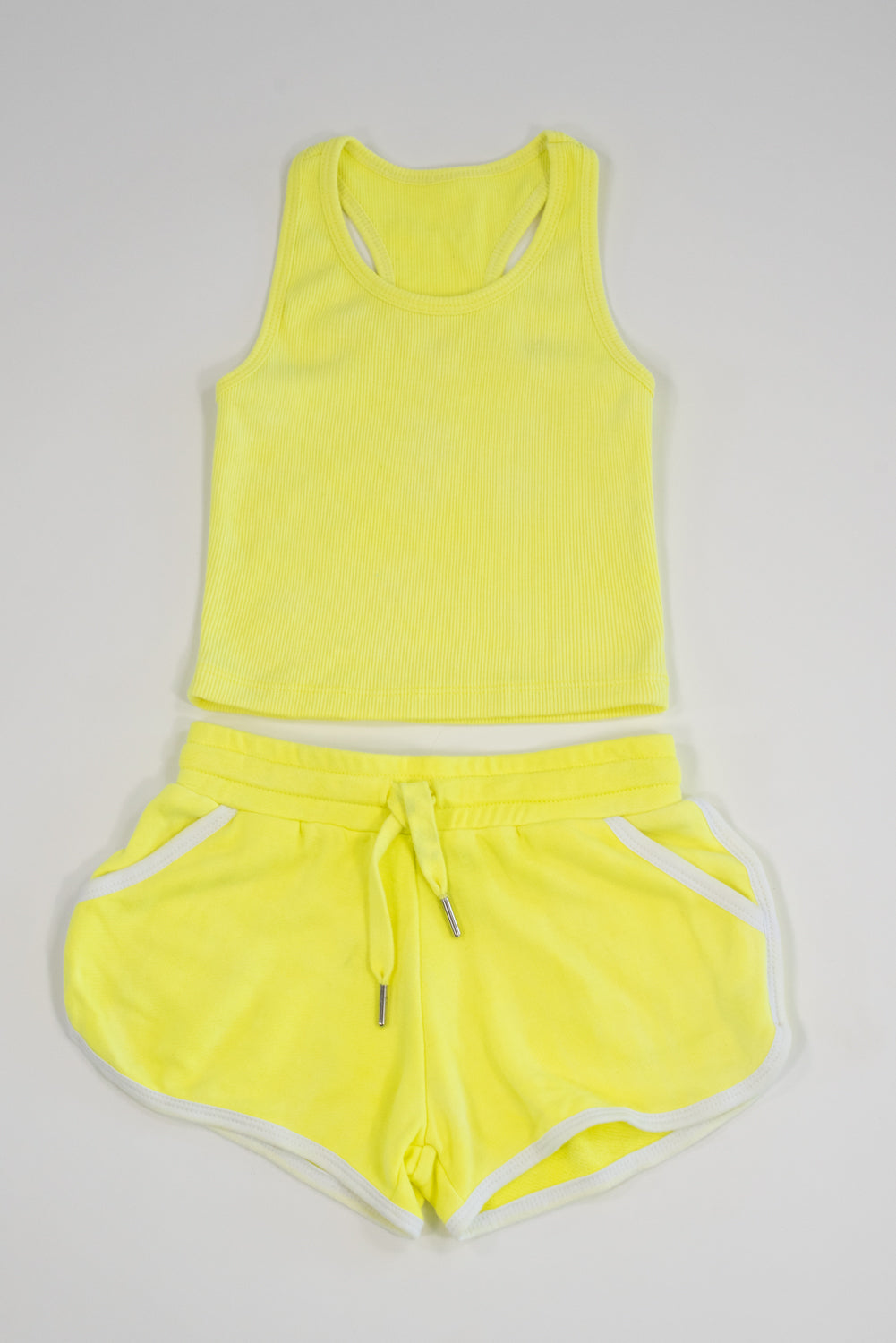 *Neon Yellow Shorts*