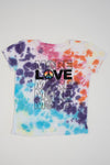 "*Multi-Spotted Tiedye ""More Love"" Tee*"