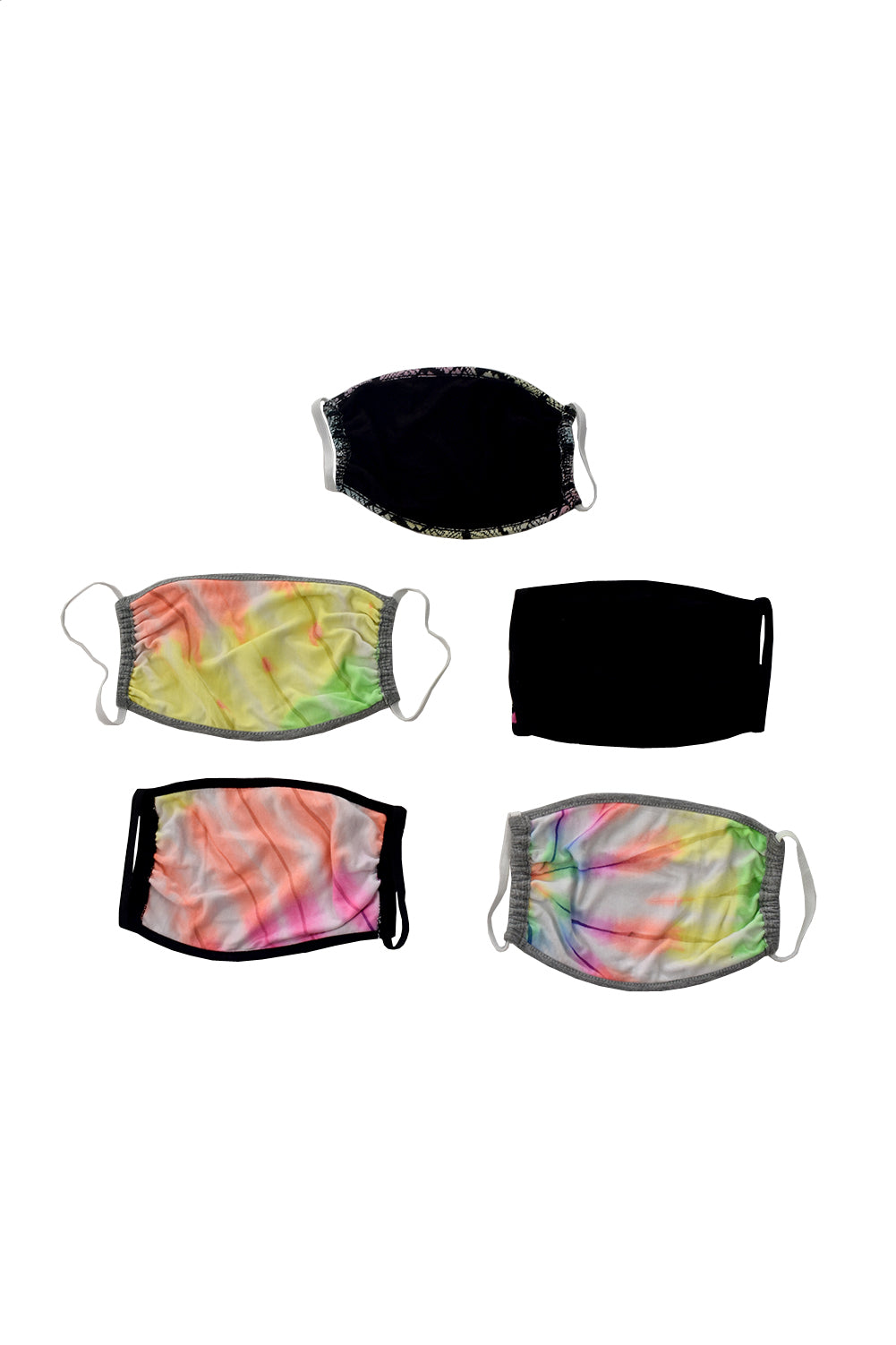*#6 Mixed Star 5-Pack Mask Set*