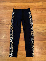 Leopard Striped Leggings