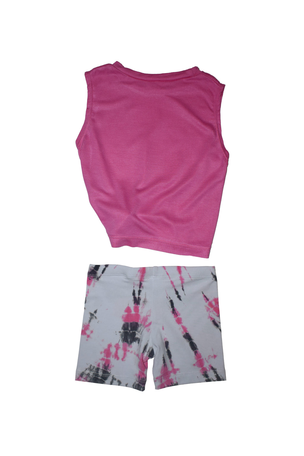 Pink High Love Vibes Baby Short Set