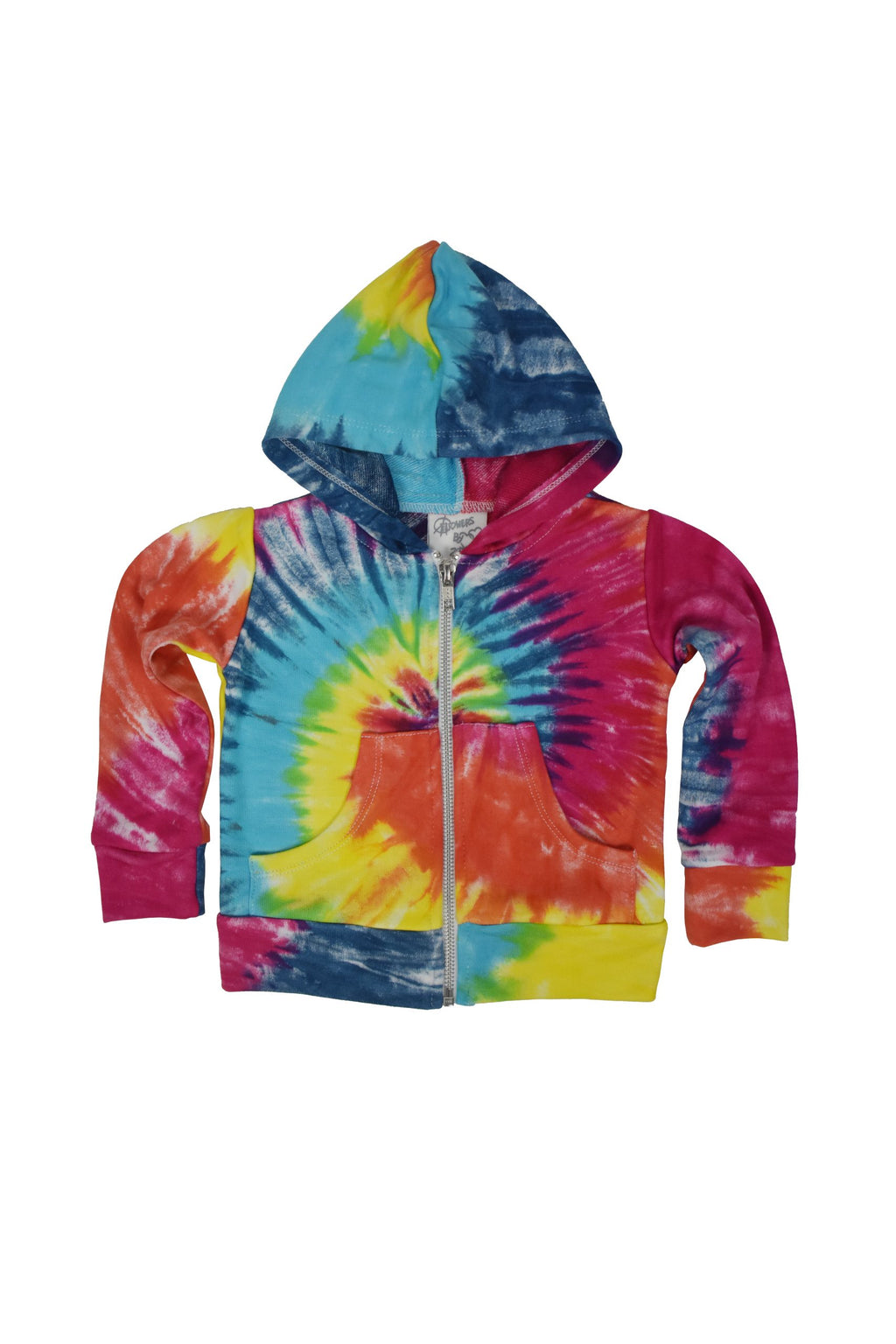 Bright Tiedye Baby Sweat-Set