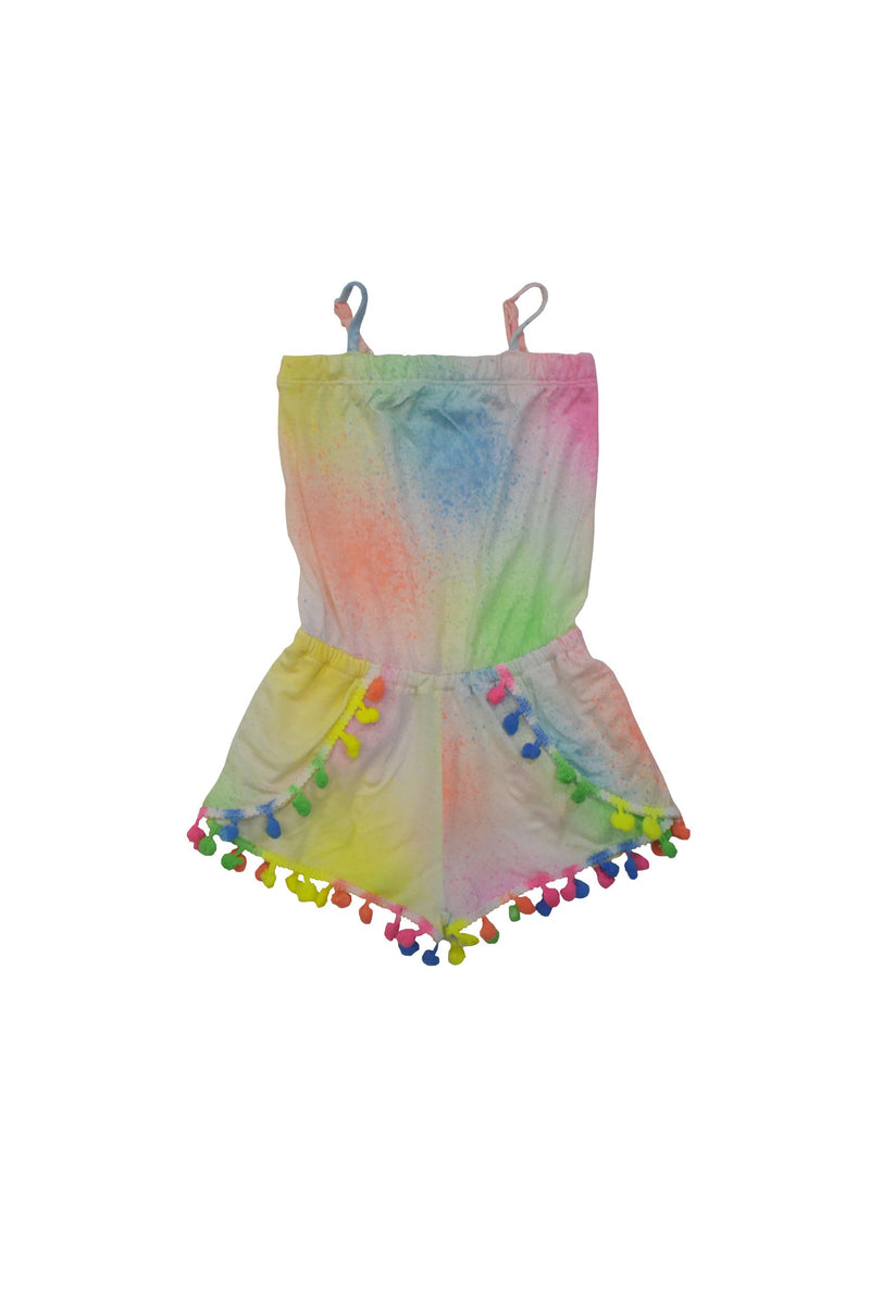 Neon Spray Romper