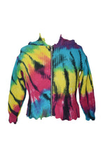 Bright Spider Tiedye Zip Cardigan