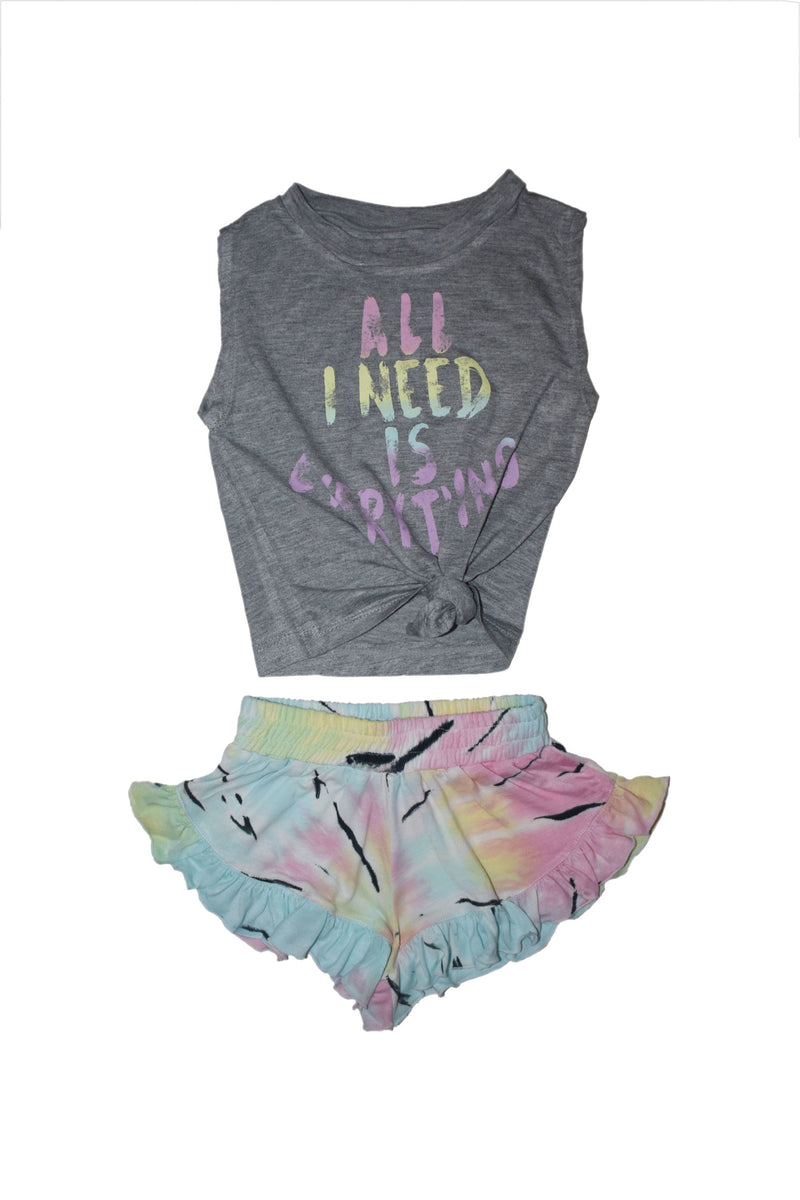 Pastel All I Need is Everything Baby Set