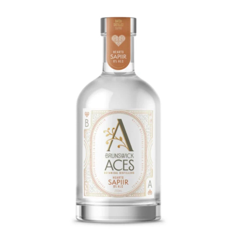 Hearts Sappir 0% Alcohol Gin - Brunswick Aces 700ml