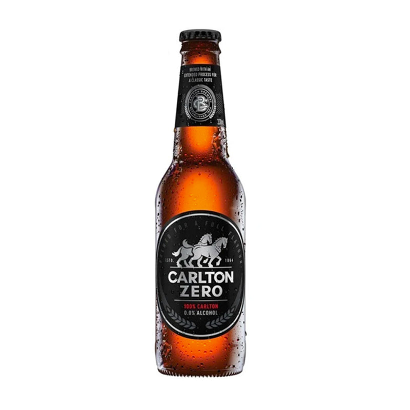 Carlton ZERO 330ml - 0% Alcohol Beer