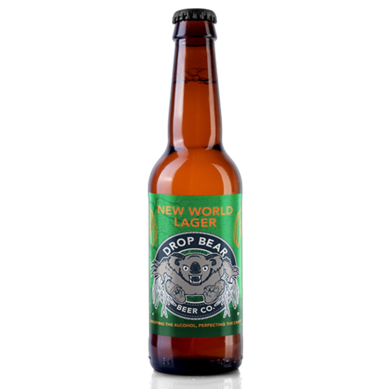 Drop Bear New World Lager 330ml Beer - 0.5%