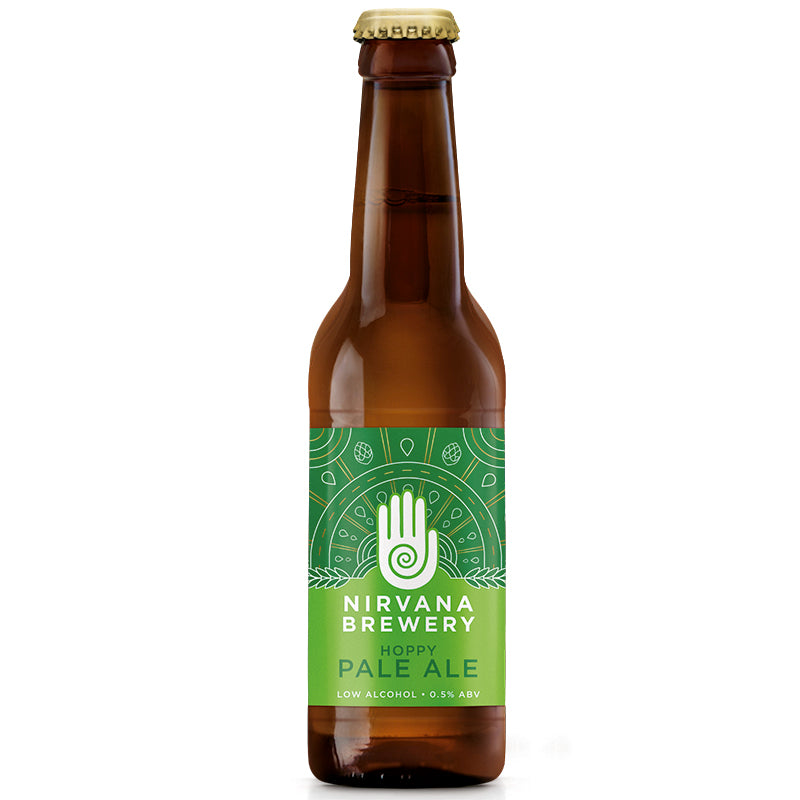 Nirvana Hoppy Pale Ale 330ml Beer - 0.5%