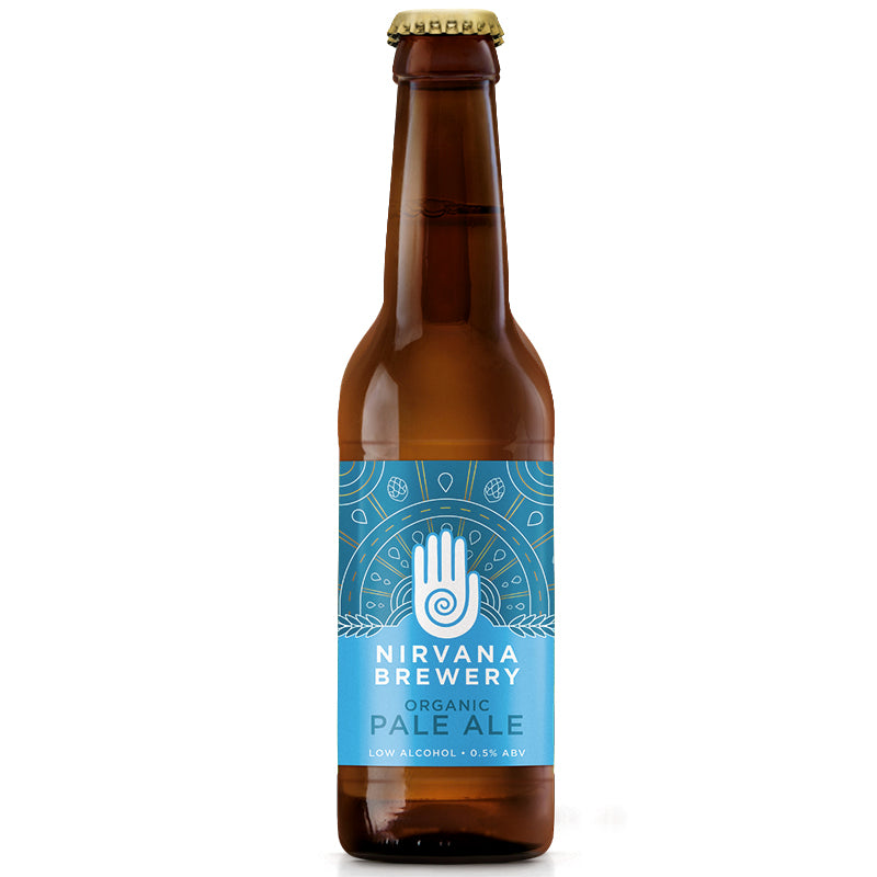 Nirvana Organic Pale Ale 330ml Beer - 0.5%