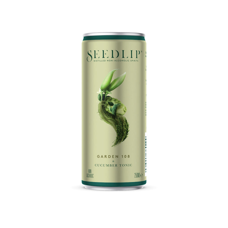 Seedlip Garden 108 - 0% Alcohol Spirit 250ml Can
