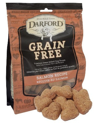 Darford® Grain Free Salmon Heart Minis Dog Treats