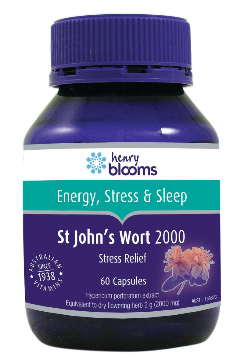 Henry Blooms St Johns Wort 2000mg 60 Capsules