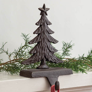 Cast Iron Christmas Tree Stocking Holder