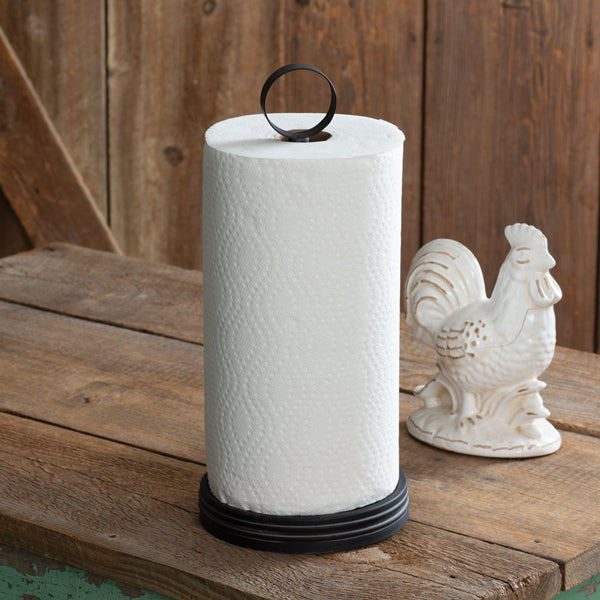Industrial Ring Paper Towel Holder