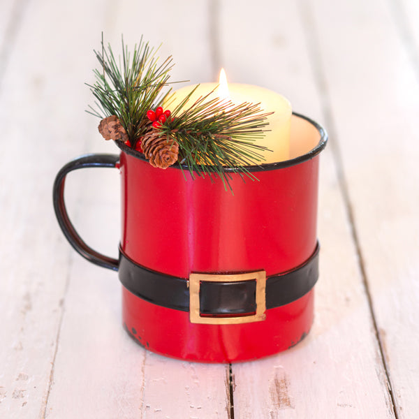 Santa Suit Decorative Cup