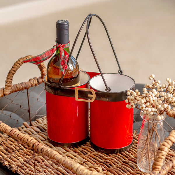 Santa Suit Bottle Caddy