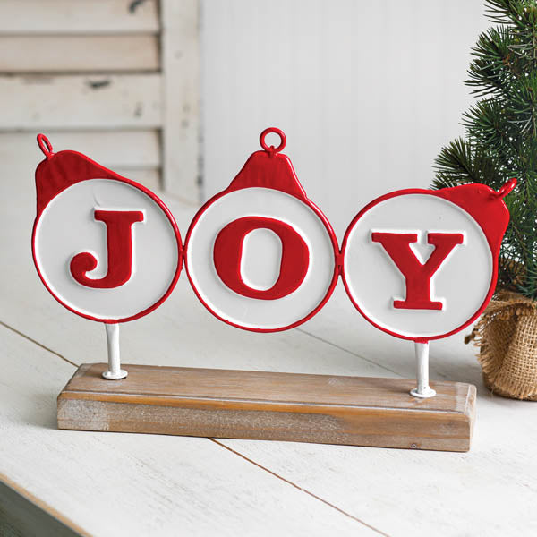 Joy Tabletop Decor