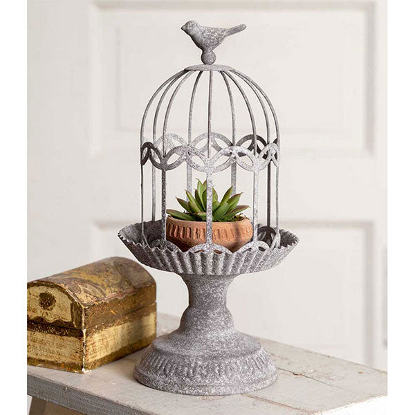 Songbird Gazebo Cloche with Base