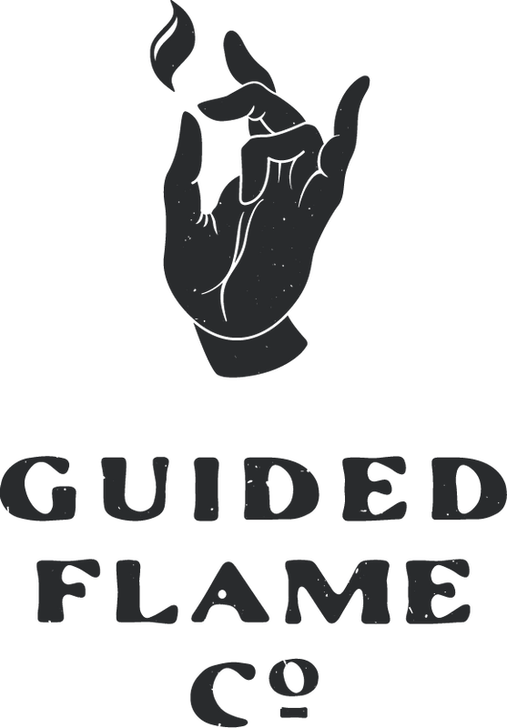 Guided Flame Co. is a holistic source of highest quality, handmade candles, custom blend anointing oils, sacred herbs, healing stones and home goods; all created and curated with care to bring abundance and blessings to Spirit, mind and body.