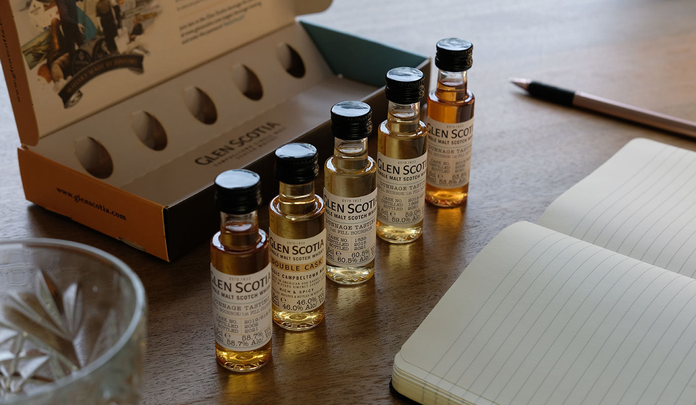 Dunnage Whisky Tasting
