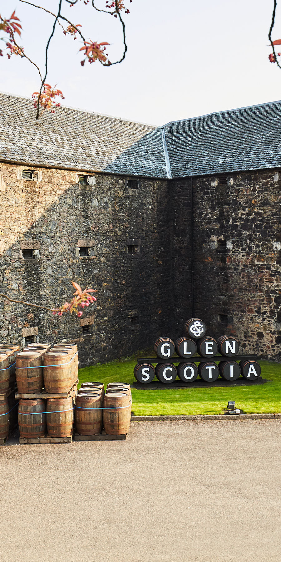 Glen Scotia Distillery External