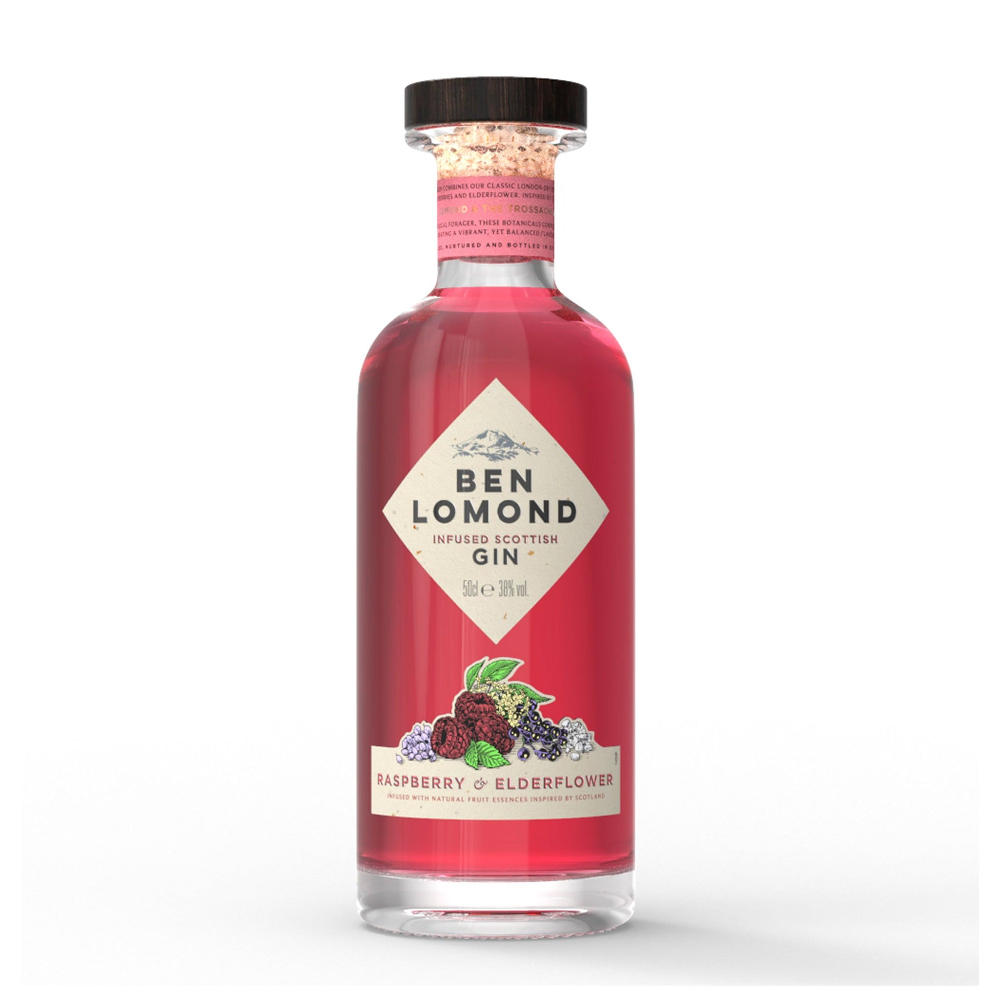 Ben Lomond Gin Raspberry & Elderflower