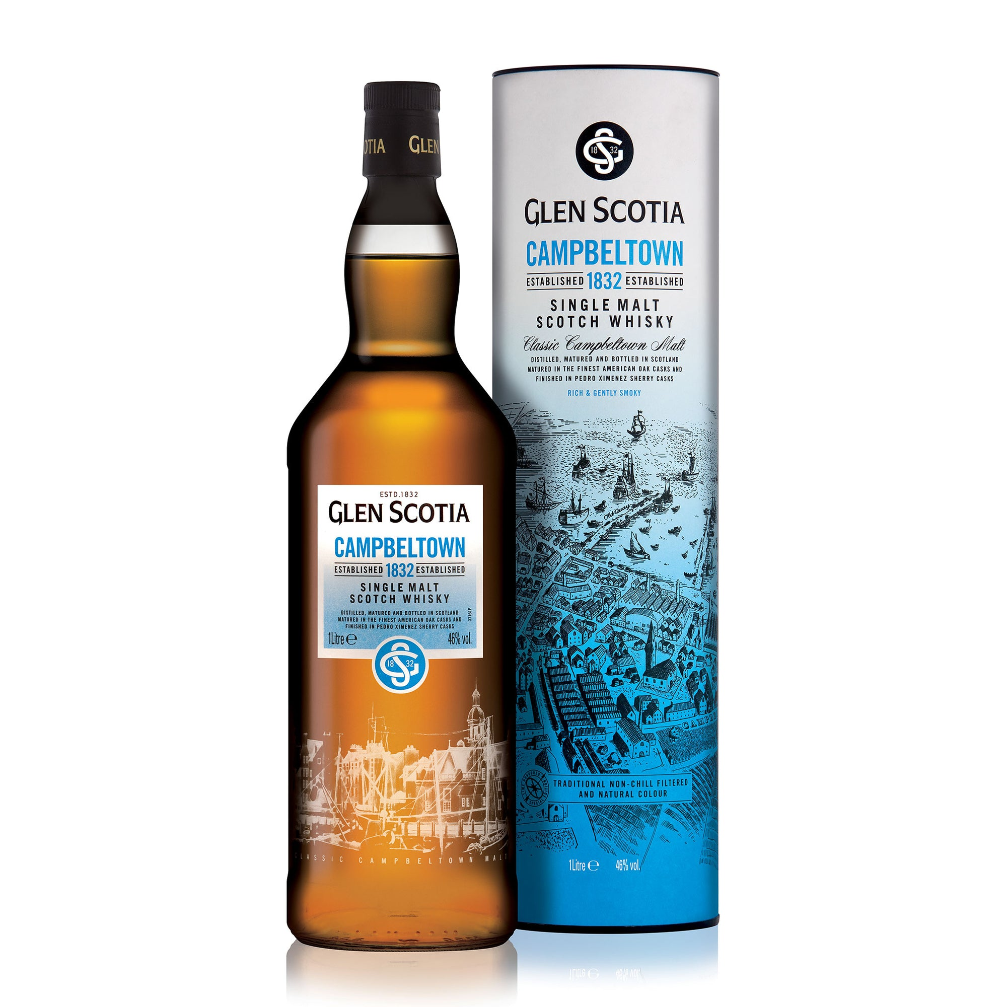 Glen Scotia Campbeltown 1832 Single Malt