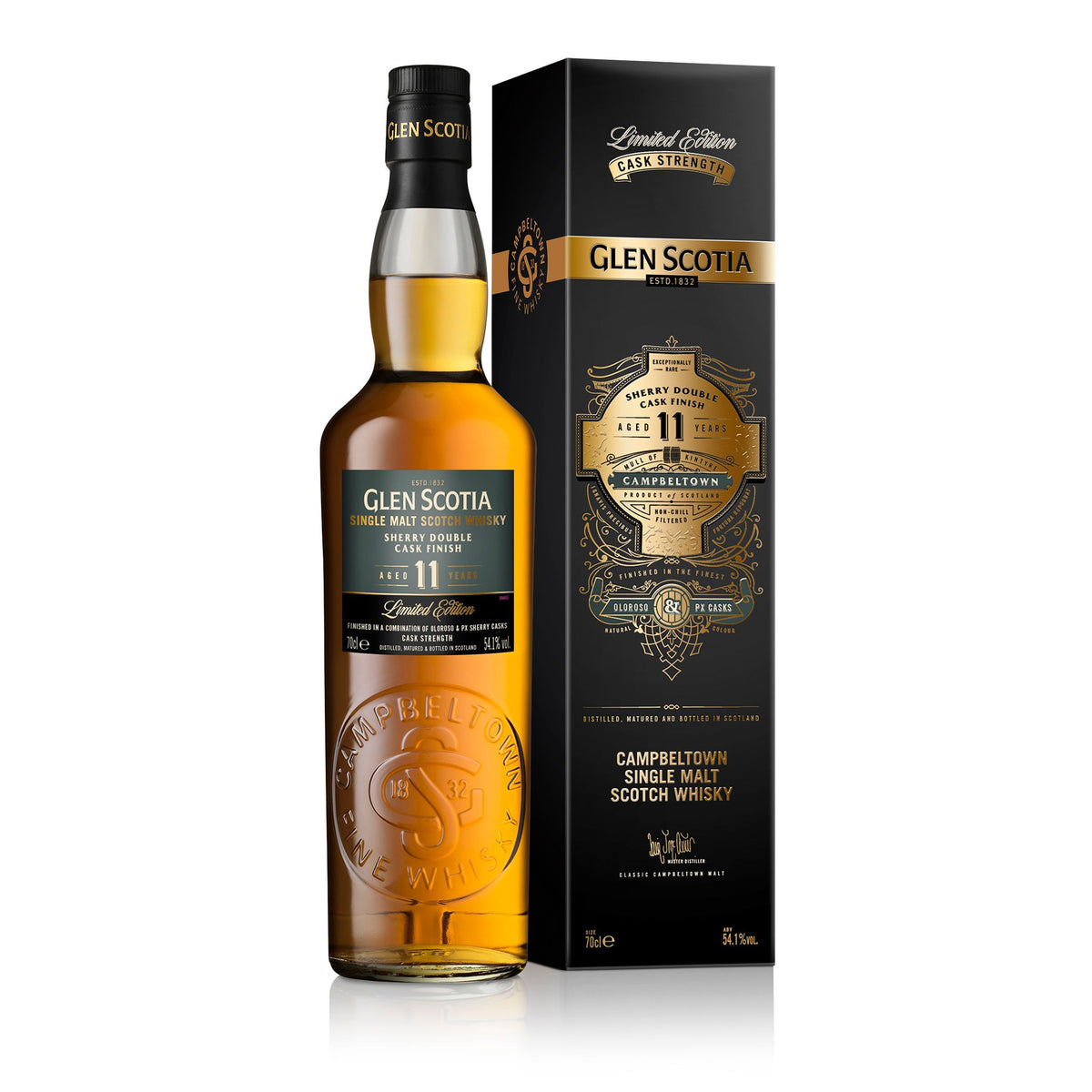 Glen Scotia Sherry Double Cask Finish Single Malt Whisky