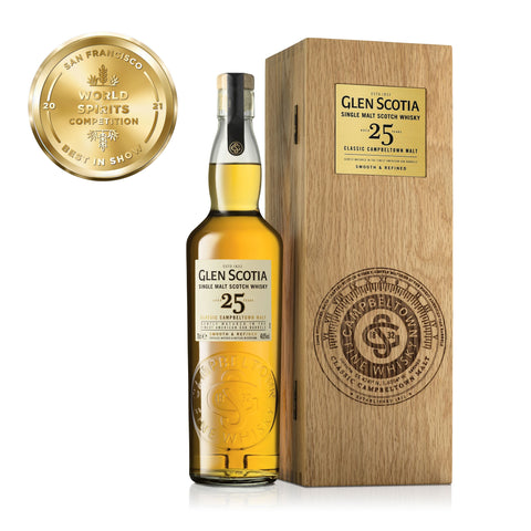 Glen Scotia 25 Year Old Whisky