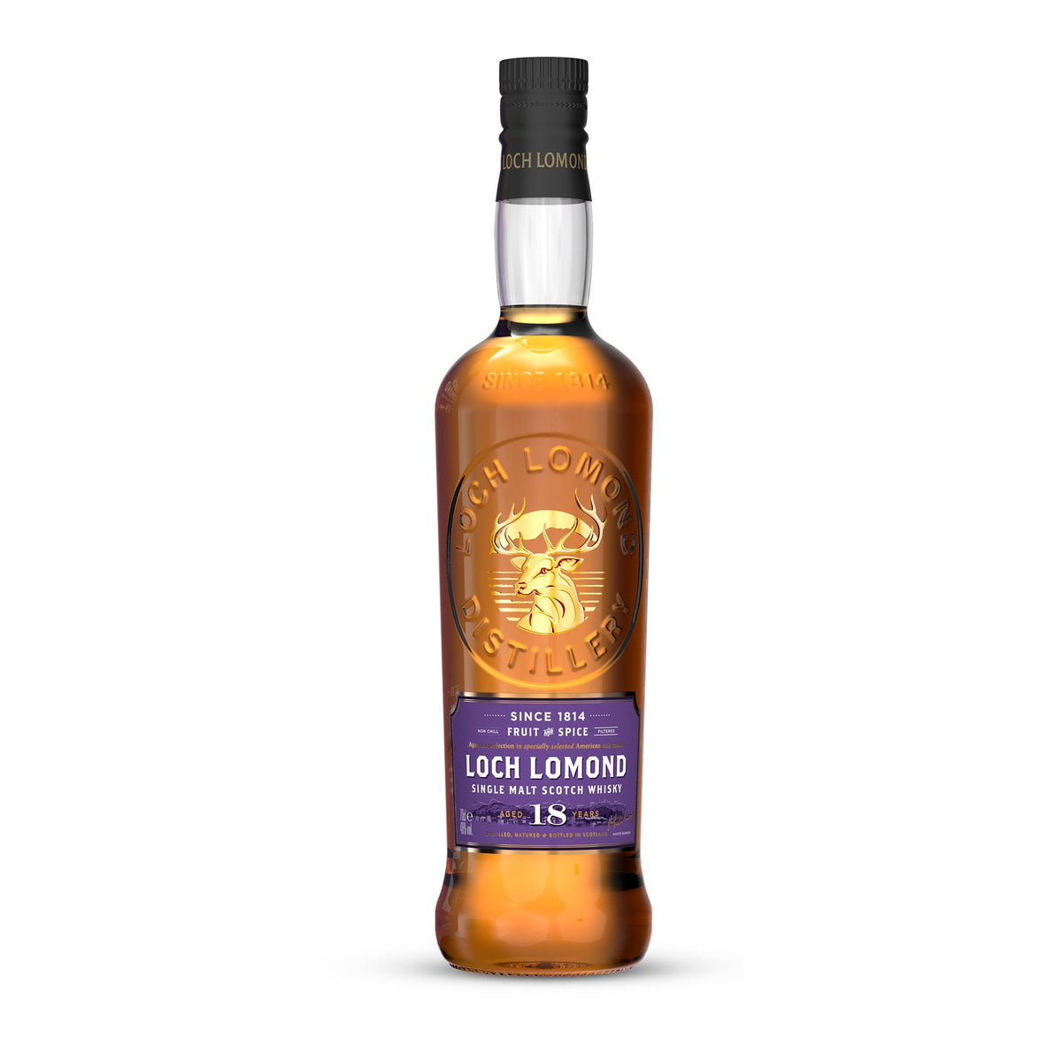 Loch Lomond 14 Year Old Single Malt Whisky Bottle