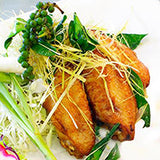 Chicken Wings with Red Shell Teriyaki Sauce