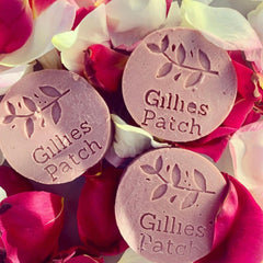 Gillies Patch - pink clay handmade soap