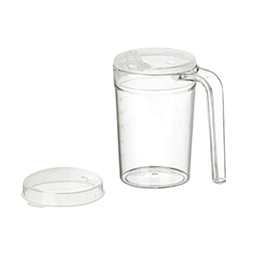 Polycarbonate Mug 400ml with 2 lids