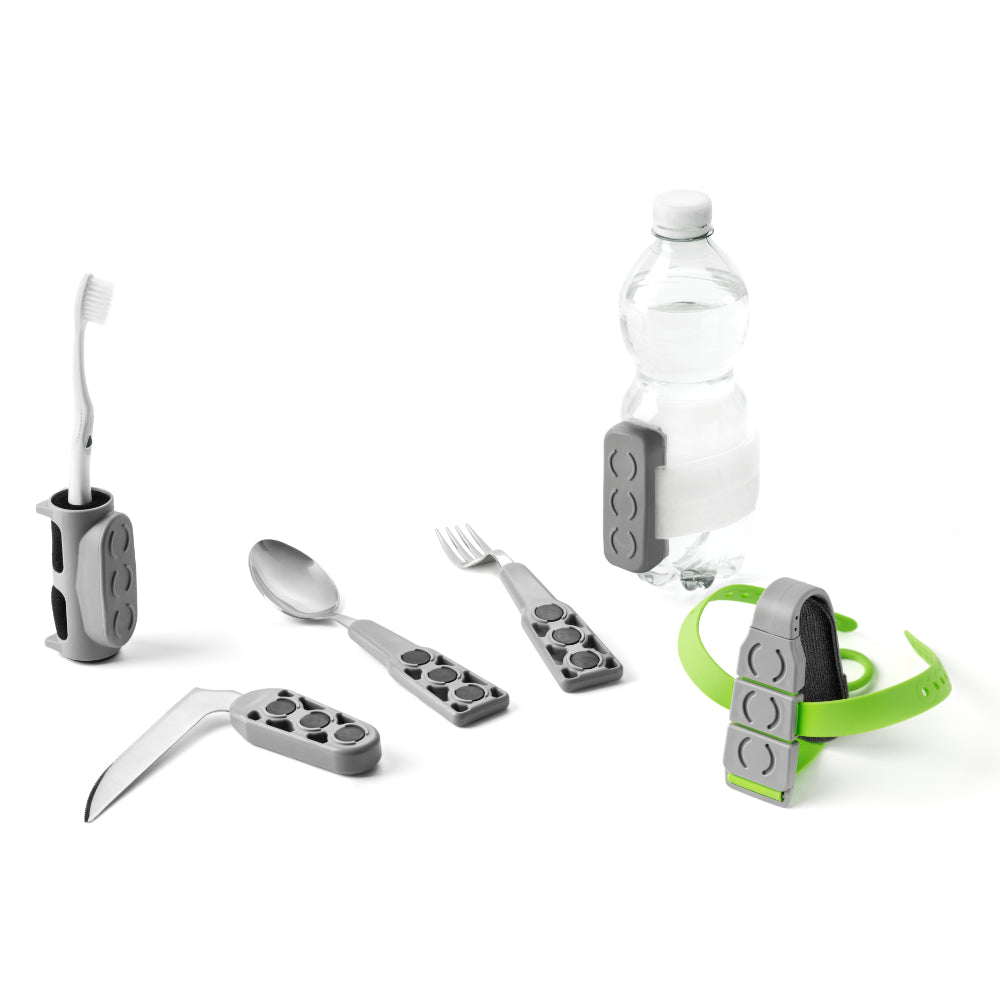 Tactee Cutlery System - Medium Kit (with bottle holder)