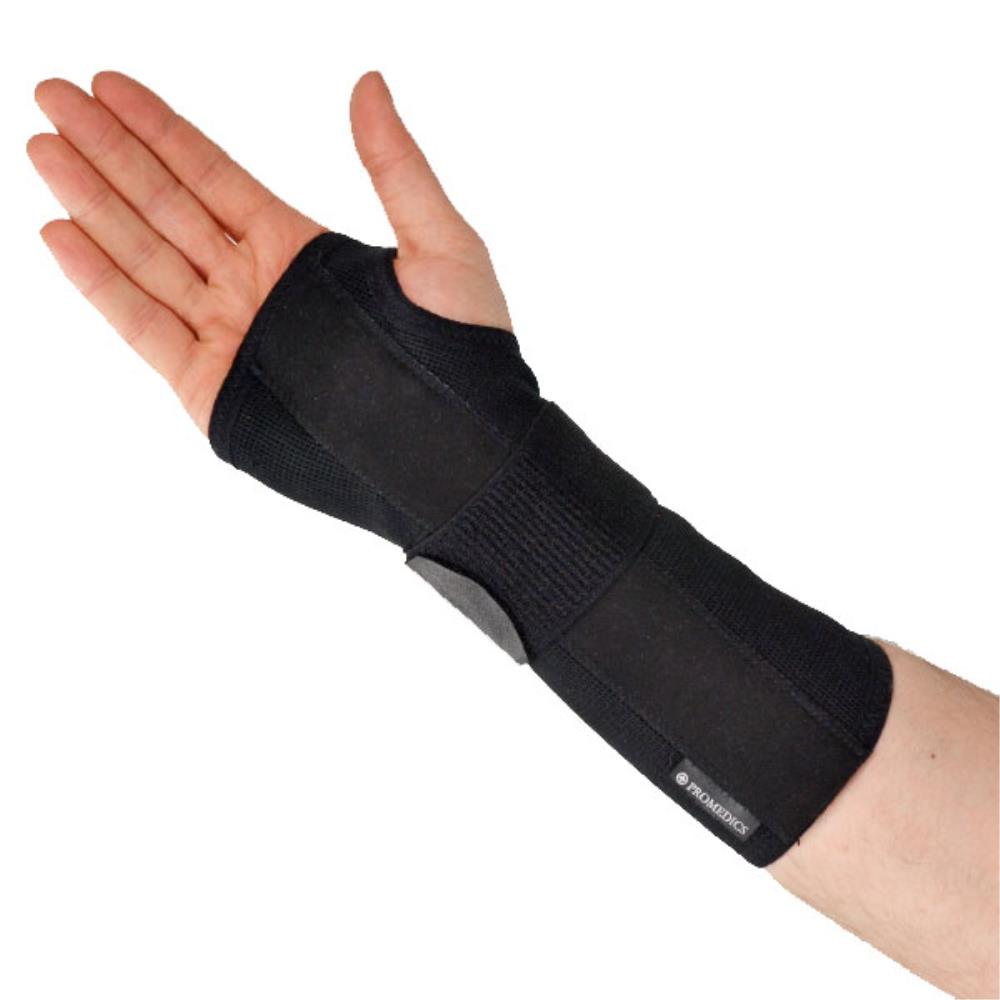 Latex Free Wrist Long - Black
