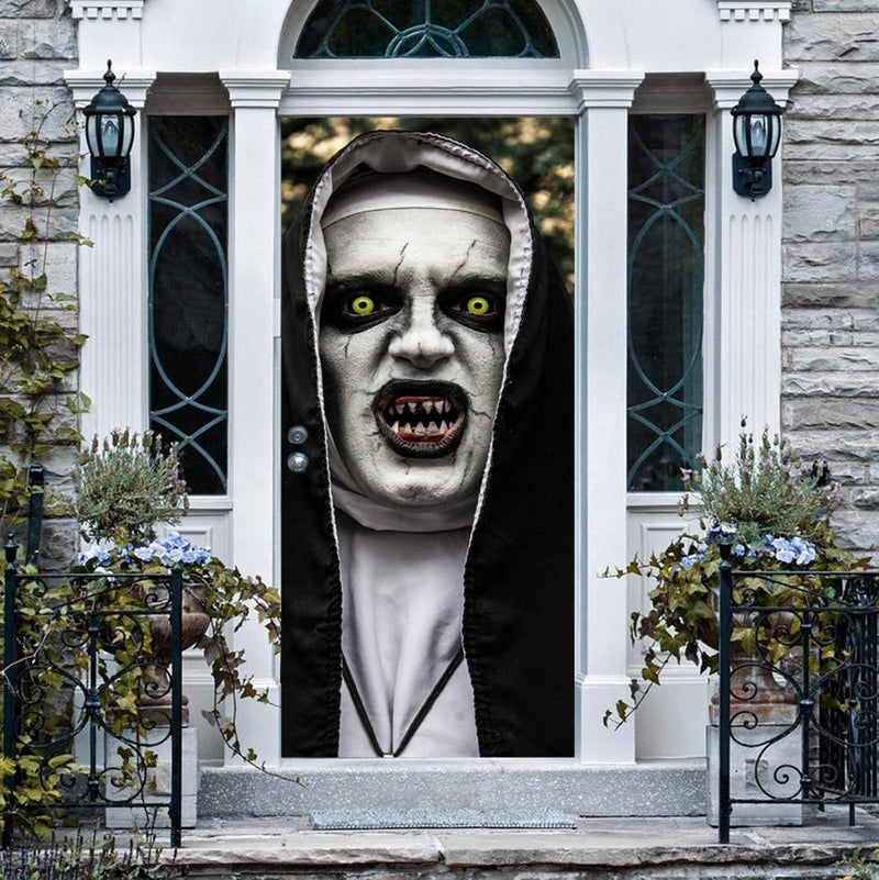 Halloween Horror Creative 3D Decoration Wall  Stickers Door Stickers